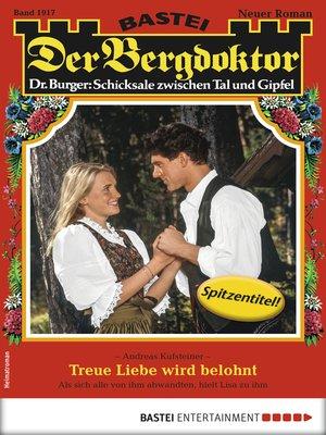 cover image of Der Bergdoktor 1917--Heimatroman