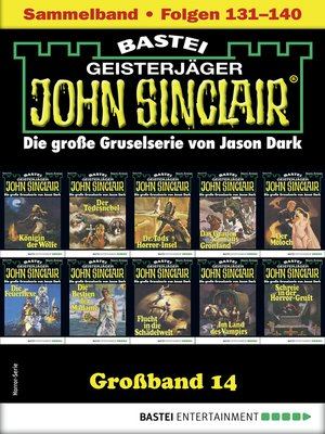 cover image of John Sinclair Großband 14--Horror-Serie