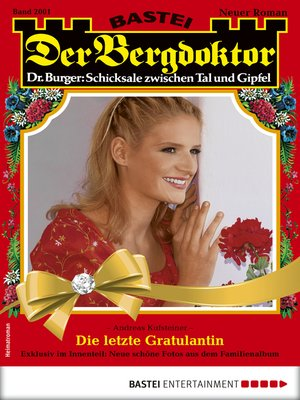 cover image of Der Bergdoktor 2001--Heimatroman