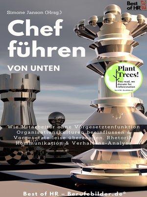 cover image of Chef führen von Unten