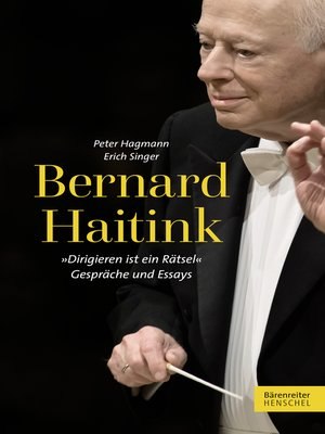 cover image of Bernard Haitink