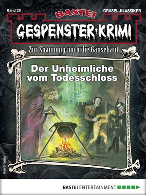 cover image of Gespenster-Krimi 26--Horror-Serie