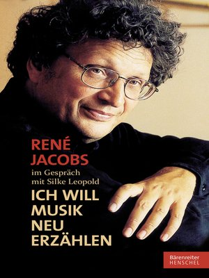 cover image of René Jacobs im Gespräch mit Silke Leopold