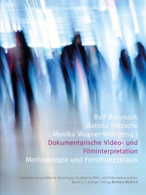 cover image of Dokumentarische Video- und Filminterpretation