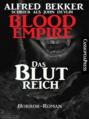 cover image of Blood Empire--Das Blutreich