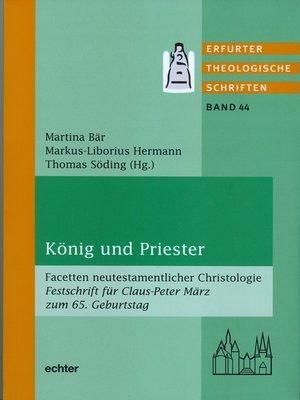 cover image of König und Priester