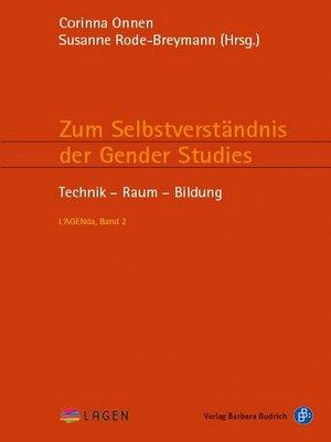 cover image of Zum Selbstverständnis der Gender Studies II