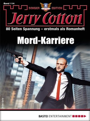 cover image of Jerry Cotton Sonder-Edition 114--Krimi-Serie