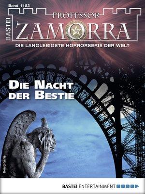 cover image of Professor Zamorra 1183--Horror-Serie