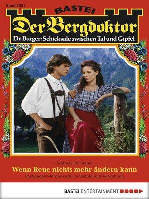 cover image of Der Bergdoktor--Folge 1861