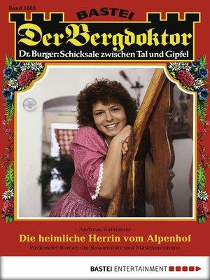 cover image of Der Bergdoktor--Folge 1683