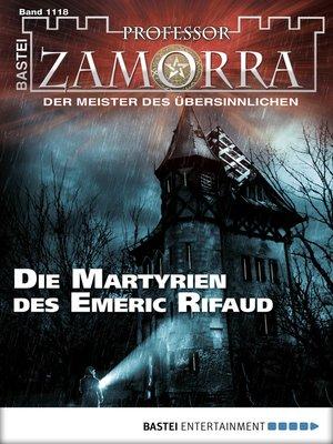 cover image of Professor Zamorra--Folge 1118