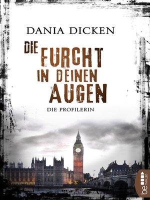 cover image of Die Furcht in deinen Augen