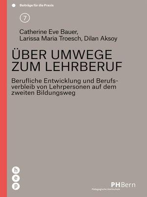 cover image of Über Umwege zum Lehrberuf