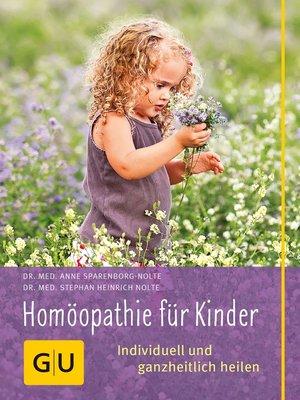 cover image of Homöopathie für Kinder