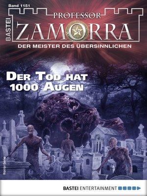 cover image of Professor Zamorra 1151--Horror-Serie