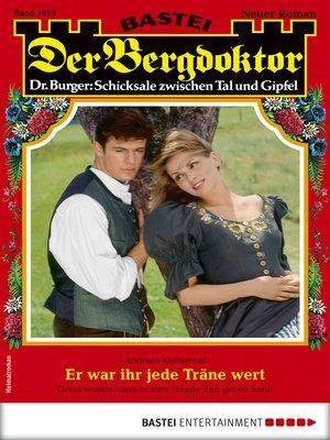 cover image of Der Bergdoktor 1950--Heimatroman