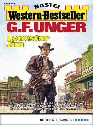 cover image of G. F. Unger Western-Bestseller 2431--Western