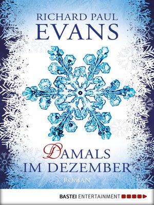 cover image of Damals im Dezember