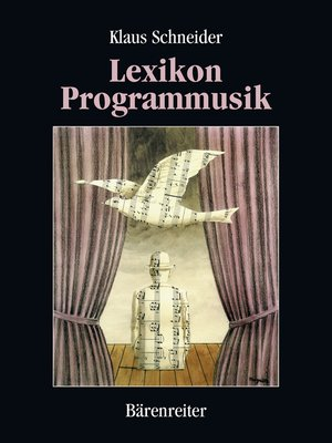 cover image of Lexikon Programmusik / Lexikon Programmusik, Band 1