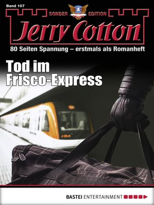 cover image of Jerry Cotton Sonder-Edition 107--Krimi-Serie