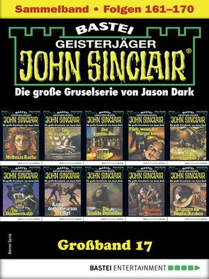 cover image of John Sinclair Großband 17--Horror-Serie