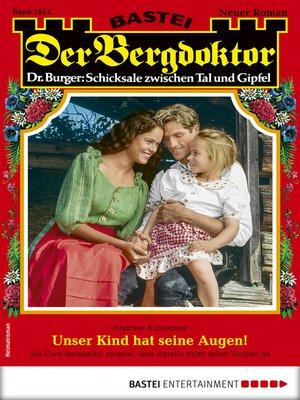 cover image of Der Bergdoktor 1954--Heimatroman