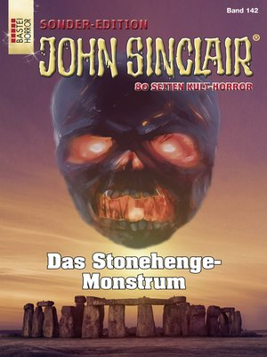cover image of John Sinclair Sonder-Edition 142--Horror-Serie