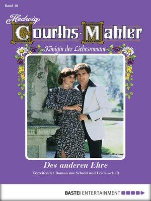 cover image of Hedwig Courths-Mahler--Folge 010