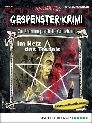 cover image of Gespenster-Krimi 32--Horror-Serie
