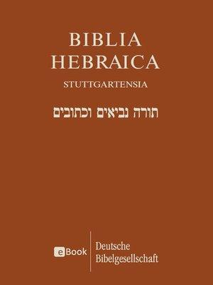 cover image of Biblia Hebraica Stuttgartensia