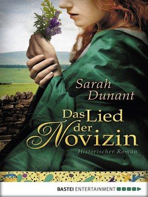 cover image of Das Lied der Novizin