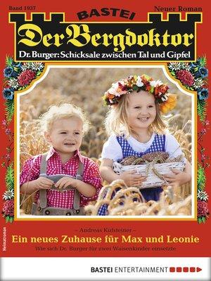 cover image of Der Bergdoktor 1937--Heimatroman