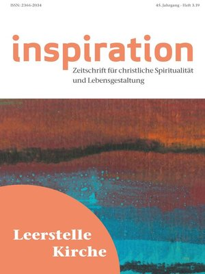 cover image of Inspiration 3/2019