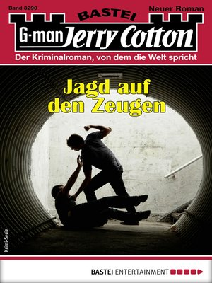 cover image of Jerry Cotton 3290--Krimi-Serie