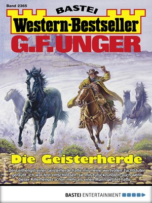 cover image of G. F. Unger Western-Bestseller 2365--Western