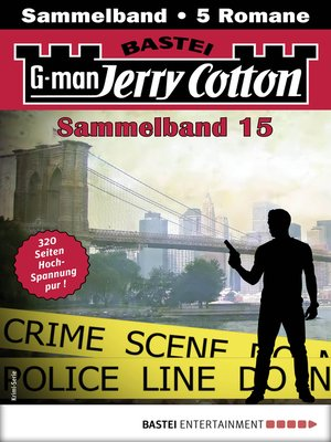 cover image of Jerry Cotton Sammelband 15--Krimi-Serie