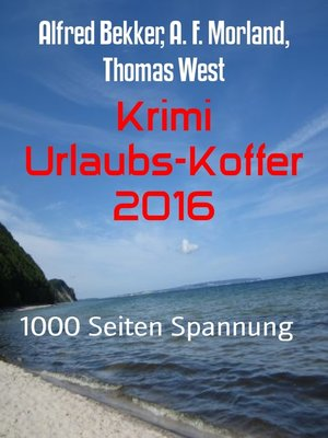 cover image of Krimi Urlaubs-Koffer 2016