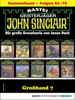 cover image of John Sinclair Großband 7--Horror-Serie