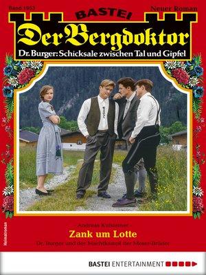cover image of Der Bergdoktor 1953--Heimatroman