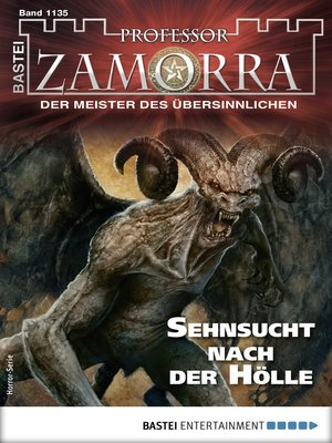 cover image of Professor Zamorra 1135--Horror-Serie