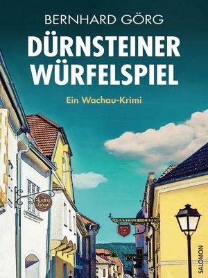 cover image of Dürnsteiner Würfelspiel