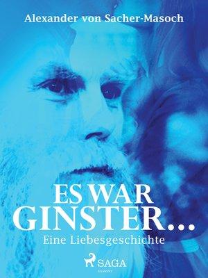 cover image of Es war Ginster... Eine Liebesgeschichte