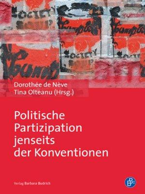 cover image of Politische Partizipation jenseits der Konventionen
