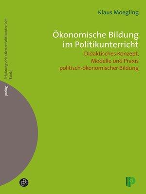 cover image of Ökonomische Bildung im Politikunterricht
