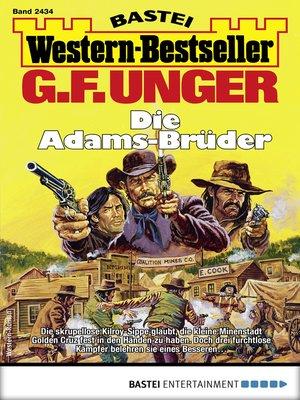 cover image of G. F. Unger Western-Bestseller 2434--Western