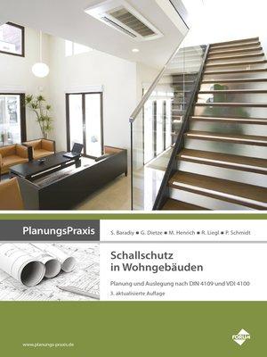 cover image of PlanungsPraxis Schallschutz in Wohngebäuden