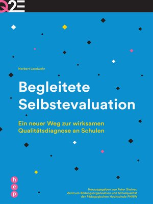 cover image of Begleitete Selbstevaluation (E-Book)