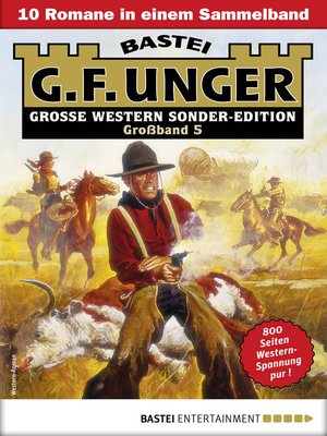 cover image of G. F. Unger Sonder-Edition Großband 5--Western-Sammelband