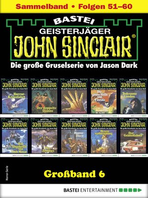 cover image of John Sinclair Großband 6--Horror-Serie